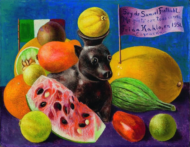 """Фрида Кало """"Натюрморт. Я принадлежу Самуэлю Фастлихту"""" 1951"""