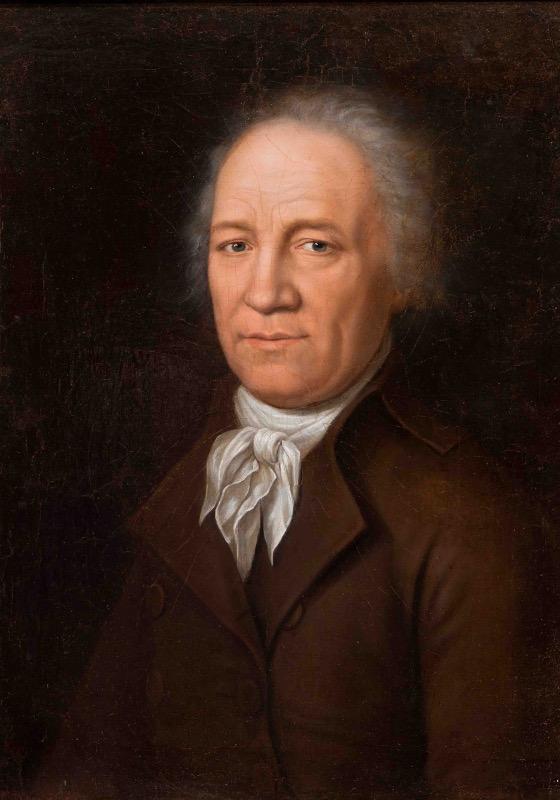 """Неизвестный художник """"Портрет А.Т. Болотова"""" 1790-е"""