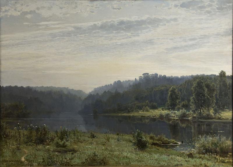 "И.И. Шишкин ""Туманное утро"" 1885"