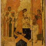 """Икона """"Воскресение"""" Русский Север. 15 век"""