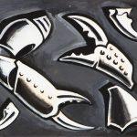 """Дмитрий Краснопевцев """"Клешни краба"""" 1960-е"""