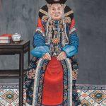 Джалсарай. Копия картины Сономцэрэна. Портрет супруги тушету-хана. Монголия, 1948