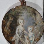"""К. Хойер """"Мальчики с собакой"""" 1790-е"""
