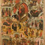"""Икона """"Рождество Христово"""" Вологодские земли. Середина 17 века"""