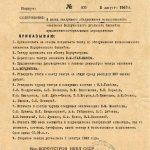 Приказ о создании Воркутинского театра