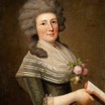 """А.-У. Вертмюллер """"Портрет мадам Витфоот, рожденной Ноер"""" 1789"""