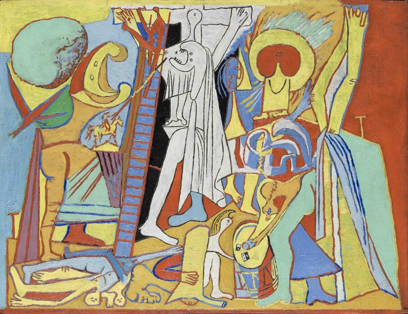"""Пабло Пикассо """"Распятие"""" 1930"""