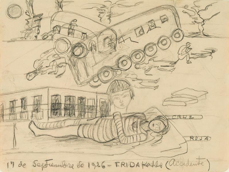 "Фрида Кало ""Авария"" 1926"