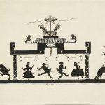 "Александр Бенуа ""Арлекинада. Заставка для журнала ""Золотое Руно"" 1906"