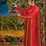 "Б.Ю. Нурали ""Сбор винограда"" Туркмения 1929"