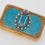 Табакерка подарочная из Кабинета Его Императорского Величества. До 1898