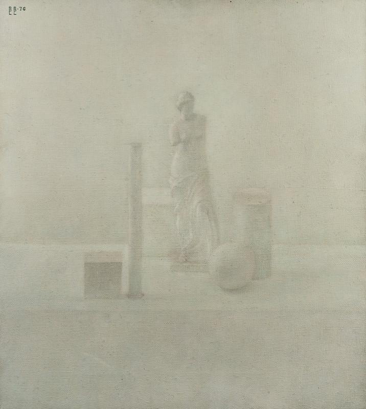 """Владимир Вейсберг """"Венера с геометрическими фигурами"""" 1976"""