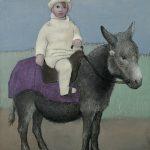 """Пабло Пикассо """"Поль на ослике"""" 1923"""