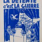 """Плакат """"Разрядка международной напряженности»"""