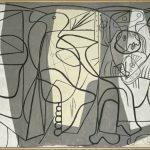 """Пабло Пикассо """"Художник и модель"""" 1926"""