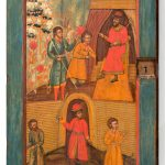 Дверка от шкафа. Россия. 18 век