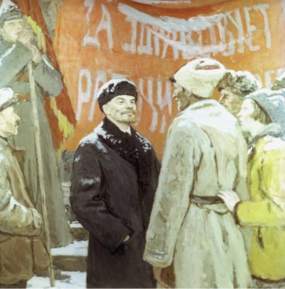 Василий Нечитайло «На Красной площади»