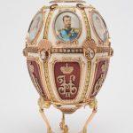 Пасхальное императорское яйцо на подставке. 1904