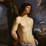 """Гверчино (Джованни Франческо Барбьери) """"Святой Себастьян"""" 1641"""