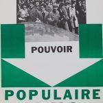 """Постер """"Pourvoir populaire oui"""""""