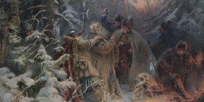 Подвиг Ивана Сусанина. История одной картины.