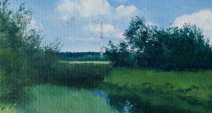 Егор Плотников. Девятнадцать пейзажей с ретранслятором.