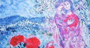 Женщина и цветы. От Марка Шагала до современных художников.