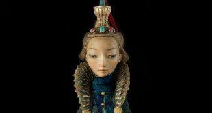 Ульгер. Выставка бронзовых скульптур Даши Намдакова и авторских кукол семьи Намдаковых.