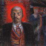 """Борис Голополосов """"Ленин - вождь пролетариата"""" 1929"""