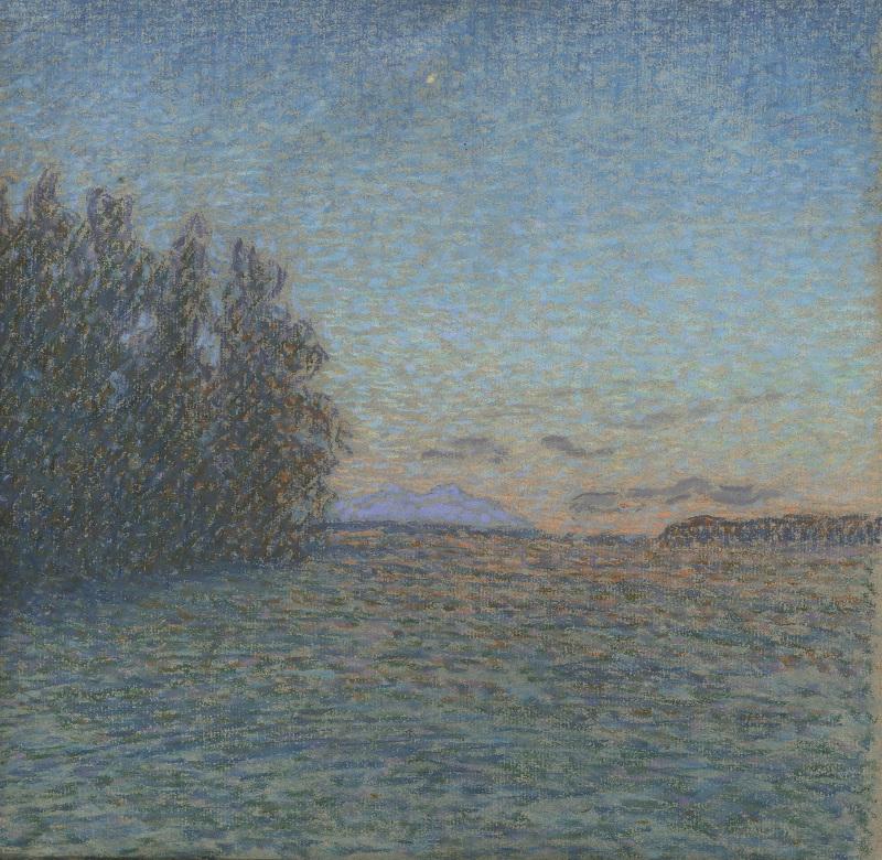 """Николай Мещерин """"Июньская ночь"""" 1911"""