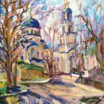 """Ольга Симонова """"Тихонова Пустынь. Весна"""" 2016"""