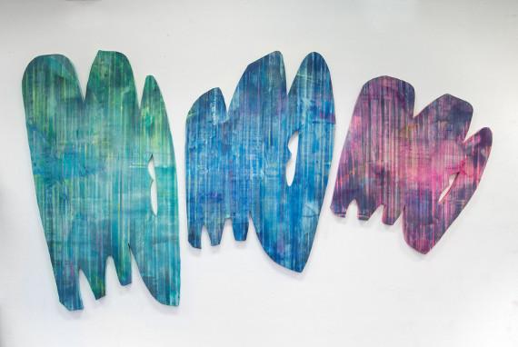 """Выставка """"Пятно и Вспышка"""". Галерея Основа / Osnova Gallery в Центре современного искусства Винзавод."""