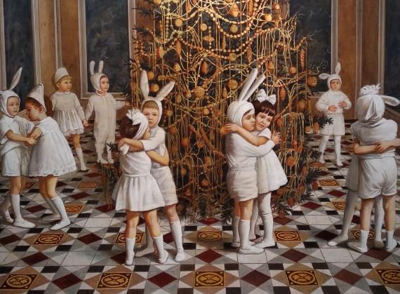 """Выставка """"Когда мой папа был маленьким"""". Галерея """"Беляево""""."""