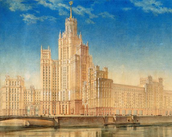 Архитектурный фестиваль большого стиля. Проект Москва глазами инженера.