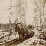 """Николай Мещерин """"Первый снег. Дугино"""" 14.10.1886"""