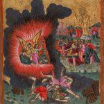 Три отрока в пещи огненной. Начало 18 века, Греция