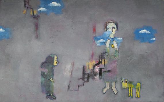 """Выставка """"Лев Саксонов. Холокост"""". Сахаровский центр – Выставочный зал."""