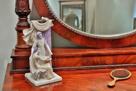 "Выставка ""Свет мой, зеркальце! скажи..."". Государственный музей А.С. Пушкина"