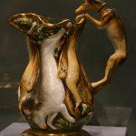 """Кувшин с изображением охотничьих трофеев (""""Битая дичь"""") 1830-е. Завод Гарднера"""