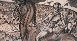 Купания Красного коня Кузьмы Сергеевича Петрова-Водкина как образ истории Советской России.
