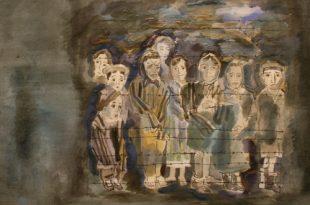 Вера Калмыкова о выставке Льва Саксонова «Холокост».