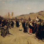 """Илья Репин """"Крестный ход в Курской губернии"""" 1881-1883"""
