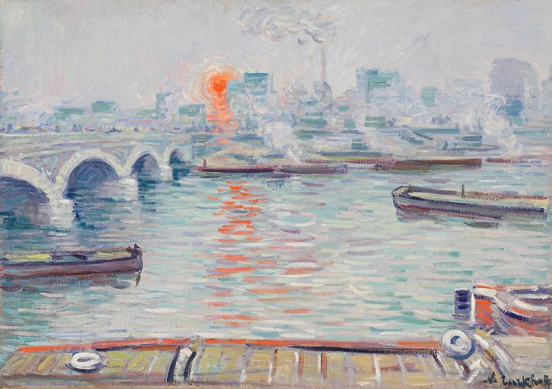 """Николай Тархов """"Утро над водой"""" 1904"""