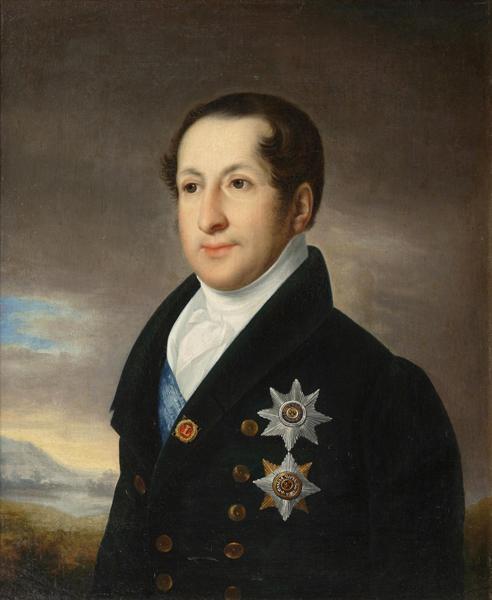 Василий Тропинин «Портрет Сергея Михайловича Голицына» После 1828