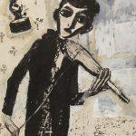 """Григорий Ингер """"Скрипка. Из серии """"Мое детство"""" 1991"""