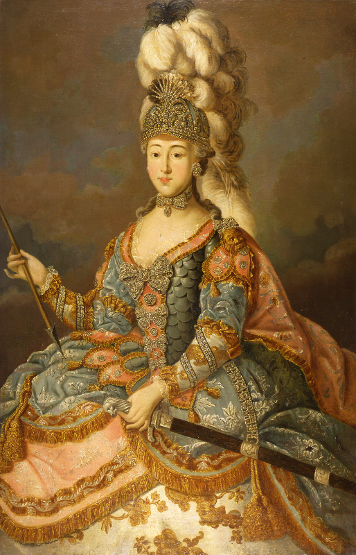 """Иоанн Лигоцкий """"Портрет графини А.П. Шереметевой"""" 1769"""
