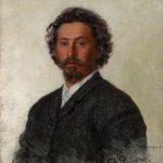 """Илья Репин """"Автопортрет"""" 1887"""