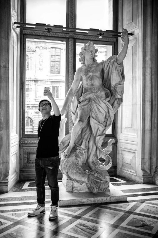 "Жерар Юфера ""Лувр"" Париж, март 2017"