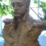 "А.С. Голубкина ""Портрет М.Ю. Лермонтова"" 1900"