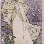"""Альфонс Мария Муха """"Дама с камелиями"""" 1896"""